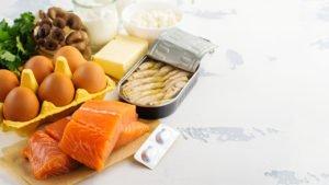 D-vitamiinipitoinen ruoka