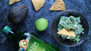 guacamole sitruunanmakuisella kalanmaksaöljyllä